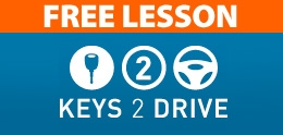 left High quality driving lessons