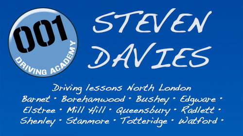 Steven Davies @ 001 Driving Academy