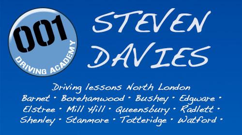 Steven Davies @ 001 Driving Academy-in-Hertfordshire