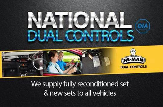 nationwide dual control fitting