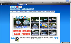 Driving lessons in Staffordshire with Craig Polles Driver Training