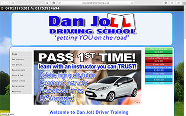 Dan Joll Driver Training