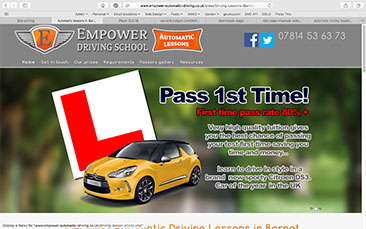 Empower Automatic Driving School