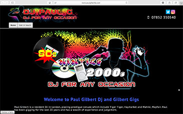 Paul Gilbert Dj