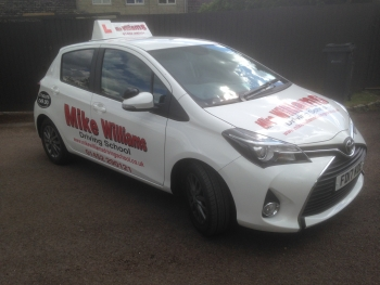 Mike Williams Driving School car