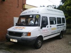 Minibus driver training