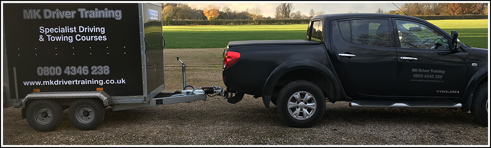 B+E Trailer towing courses from specialist instructors