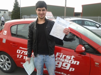 - Turkish delight as Bekir passes his driving test February
