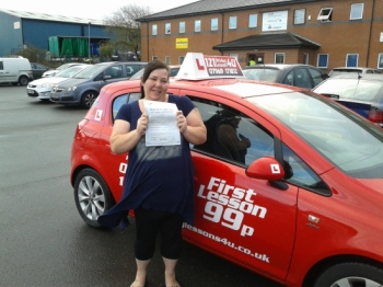 Time for the people wagon December at Sutton in Ashfield test centre Passed first time