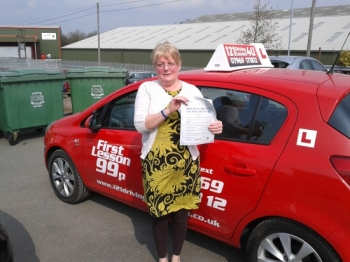 passed April at Sutton in Ashfield Test centre. Proving that it´s never too late to learn....