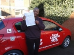Ade passed with 121drivinglessons4u