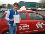 Bradley passed with 121drivinglessons4u