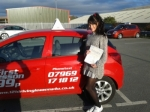 Juliette passed with 121drivinglessons4u