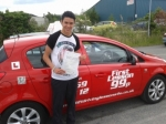 Paice passed with 121drivinglessons4u