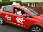 Robbie passed with 121drivinglessons4u