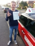 Jake Osborne passed with 1 Direction Driving School