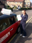 Charley Pooley passed with 1 Direction Driving School