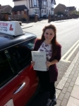 Emma Reed passed with 1 Direction Driving School
