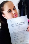 Lisa Hardy passed with 1 Direction Driving School