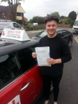 Kieron Telford passed with 1 Direction Driving School