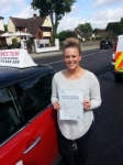 Amy Spivey passed with 1 Direction Driving School