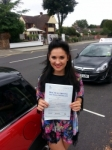 Chloe Green passed with 1 Direction Driving School