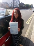 Cindy Green passed with 1 Direction Driving School