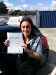Emma Spicer passed with 1 Direction Driving School