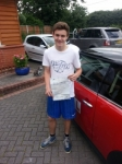 Harley Cook passed with 1 Direction Driving School