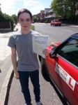 Jack Lebatt passed with 1 Direction Driving School