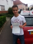 James Beckett passed with 1 Direction Driving School