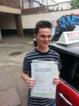 Joe Logan passed with 1 Direction Driving School