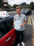Liam Nash passed with 1 Direction Driving School