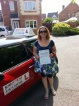 Nikki Redwood passed with 1 Direction Driving School