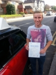 Ryan Marsh passed with 1 Direction Driving School