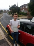 Sam House passed with 1 Direction Driving School