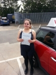 Sophie Goodwin passed with 1 Direction Driving School
