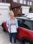 Steph Giles passed with 1 Direction Driving School