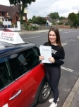 Steph Rowe passed with 1 Direction Driving School
