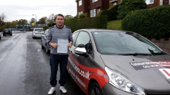 Well done you passed your driving test....