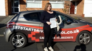 Congratulations on passing your driving test,...