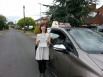 Jade  passed with 1st Start Driving School