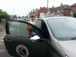 Laura passed with 1st Start Driving School