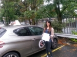 Hajra passed with 1st Start Driving School