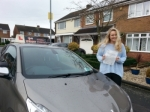 Lauran passed with 1st Start Driving School