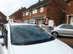 Amy passed with 1st Start Driving School