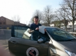 Callum passed with 1st Start Driving School