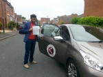 Akheil passed with 1st Start Driving School