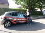 Chris passed with 1st Start Driving School