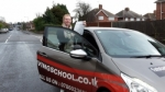Clara passed with 1st Start Driving School